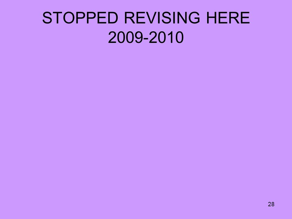 28 STOPPED REVISING HERE 2009-2010