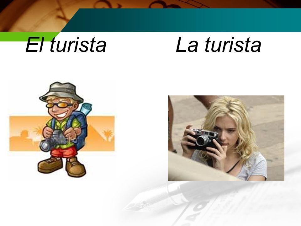 El turistaLa turista