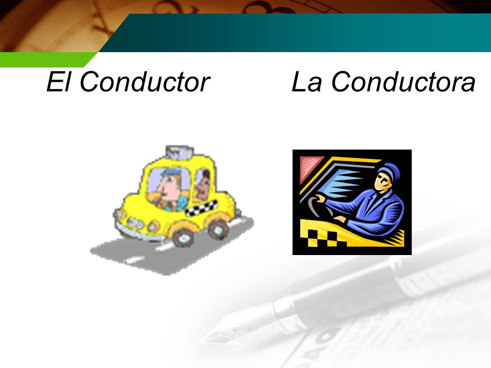 El Conductor La Conductora