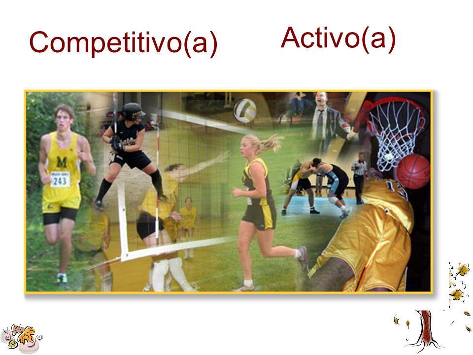 Competitivo(a) Activo(a)