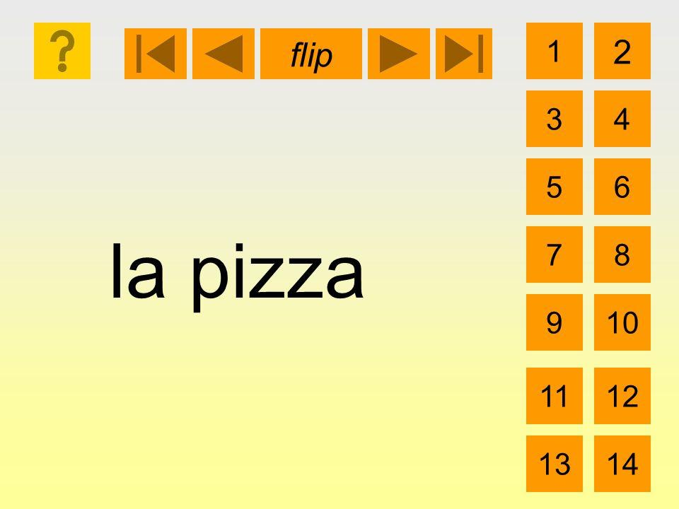 la pizza 1 3 2 4 5 7 6 8 910 1112 1314 flip