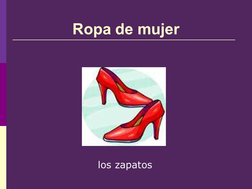Ropa de mujer los zapatos