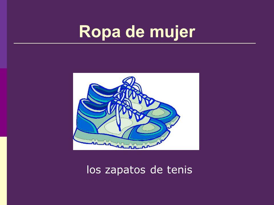 Ropa de mujer los zapatos de tenis