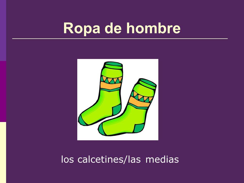 Ropa de hombre los calcetines/las medias