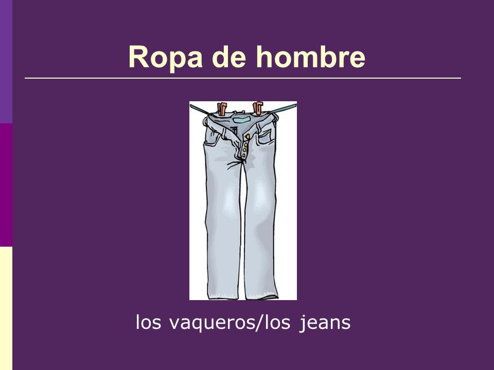 Ropa de hombre los vaqueros/los jeans