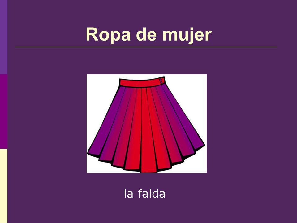 Ropa de mujer la falda