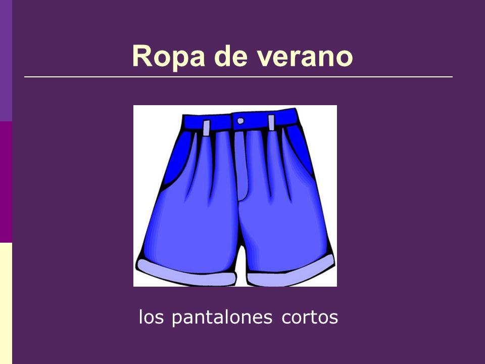 Ropa de verano los pantalones cortos
