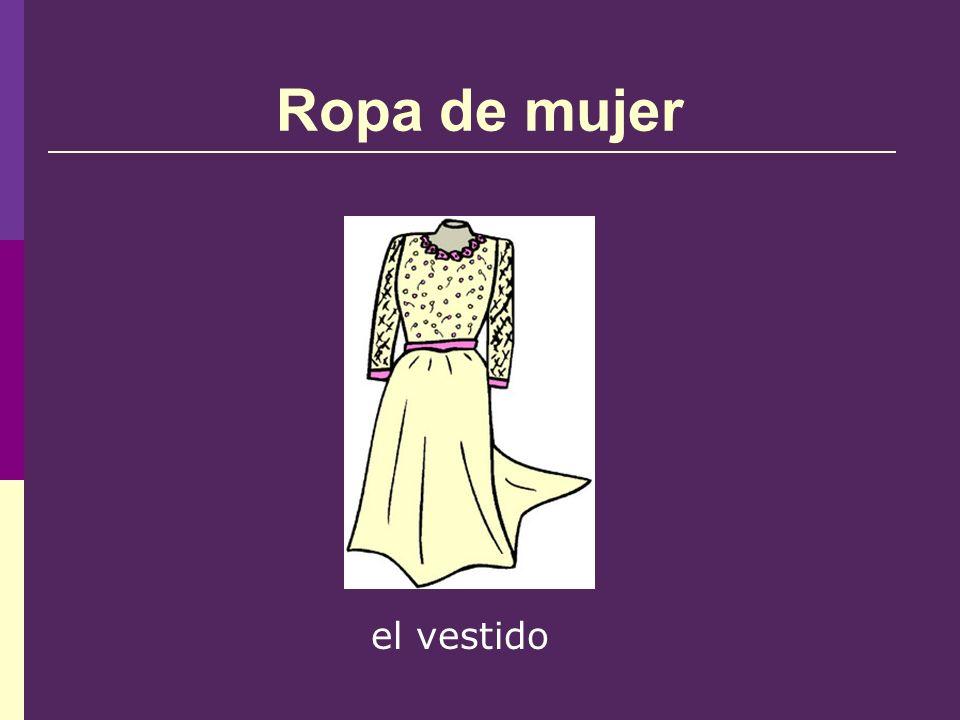 Ropa de mujer el vestido