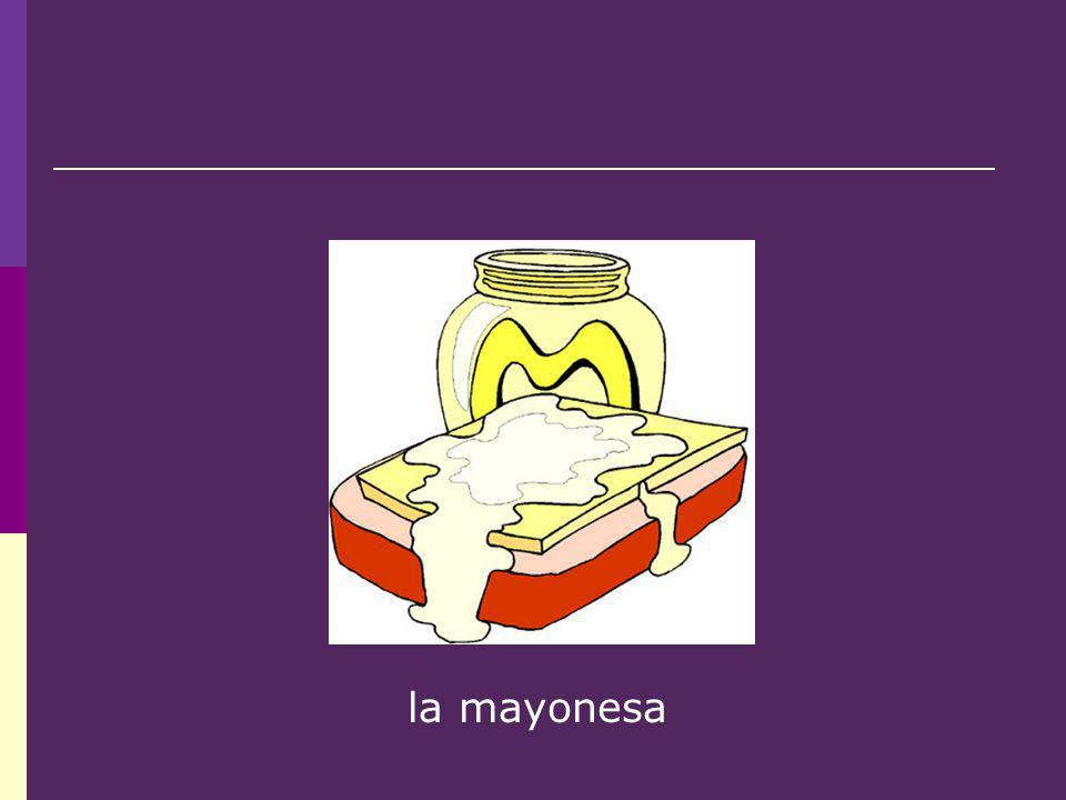 la mayonesa