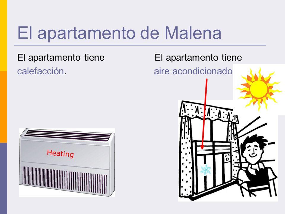 El apartamento de Malena El apartamento tiene calefacción. aire acondicionado. Heating