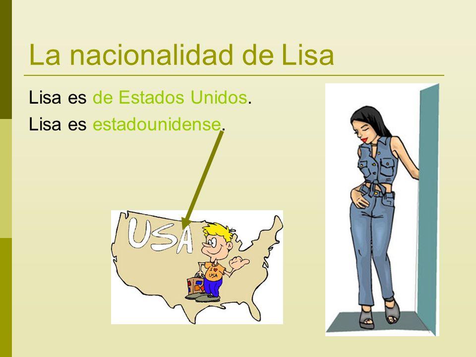 La nacionalidad de Lisa Lisa es de Estados Unidos. Lisa es estadounidense.