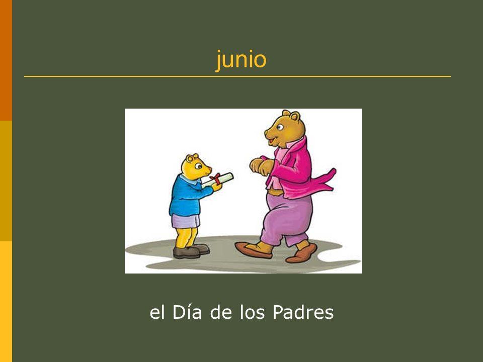 junio el Día de los Padres