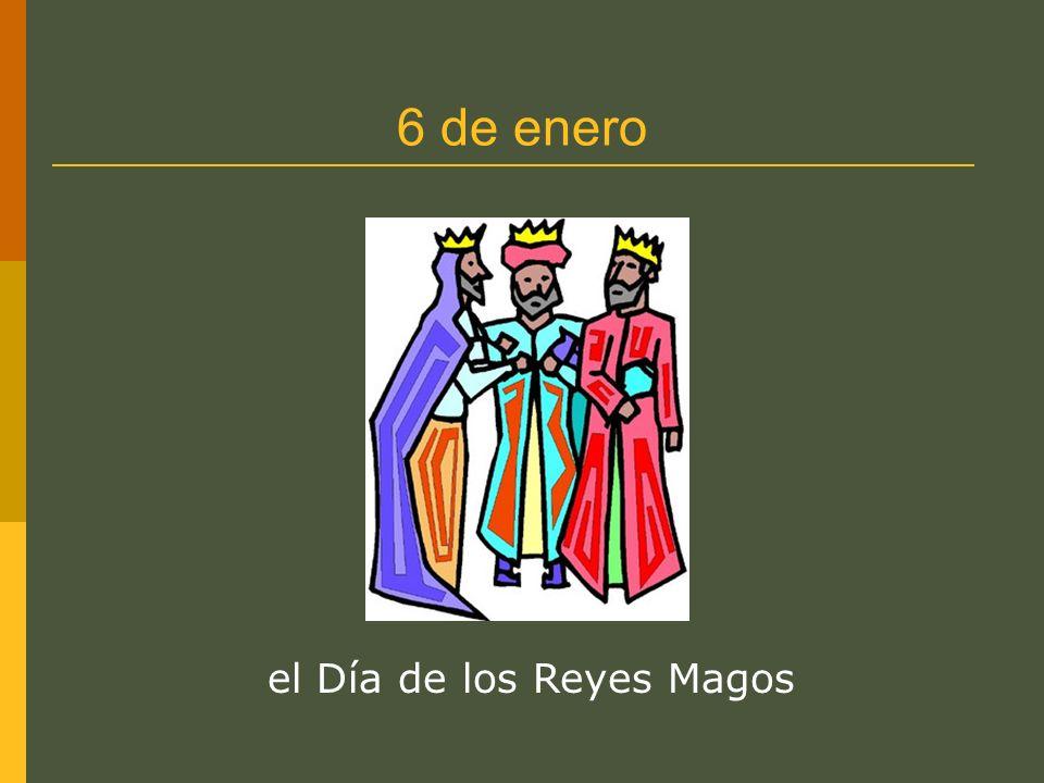 6 de enero el Día de los Reyes Magos