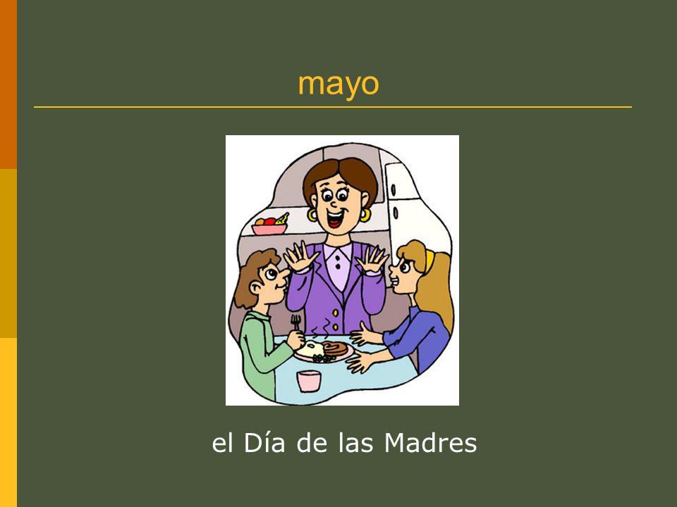 mayo el Día de las Madres