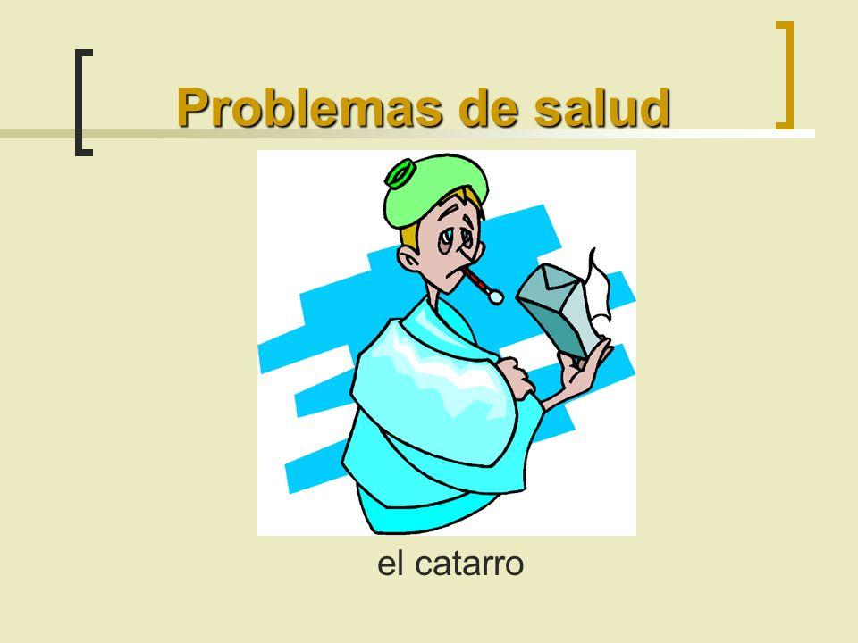 Problemas de salud el catarro