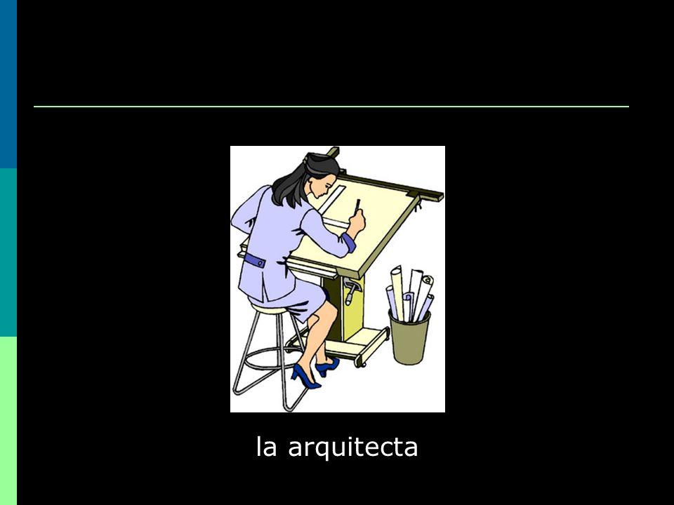la arquitecta