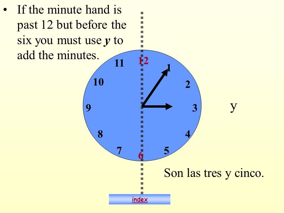 ¿Qué hora es? Son las dos menos diez. index