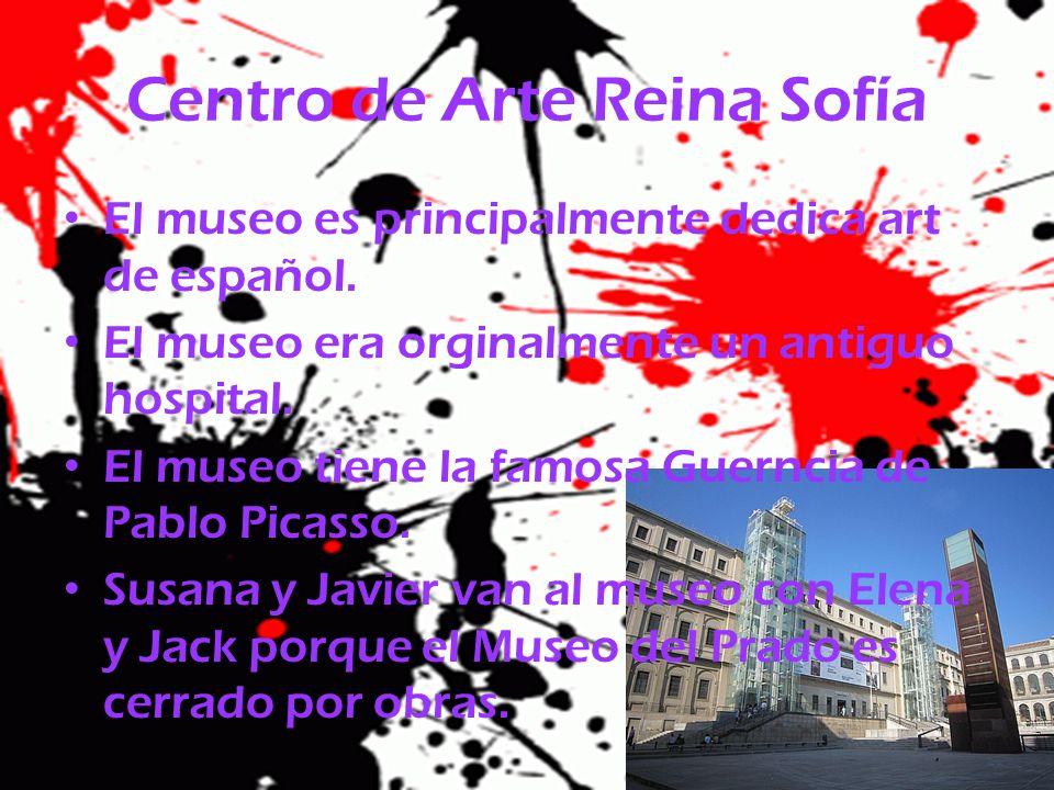 Centro de Arte Reina Sofía El museo es principalmente dedica art de español. El museo era orginalmente un antiguo hospital. El museo tiene la famosa G