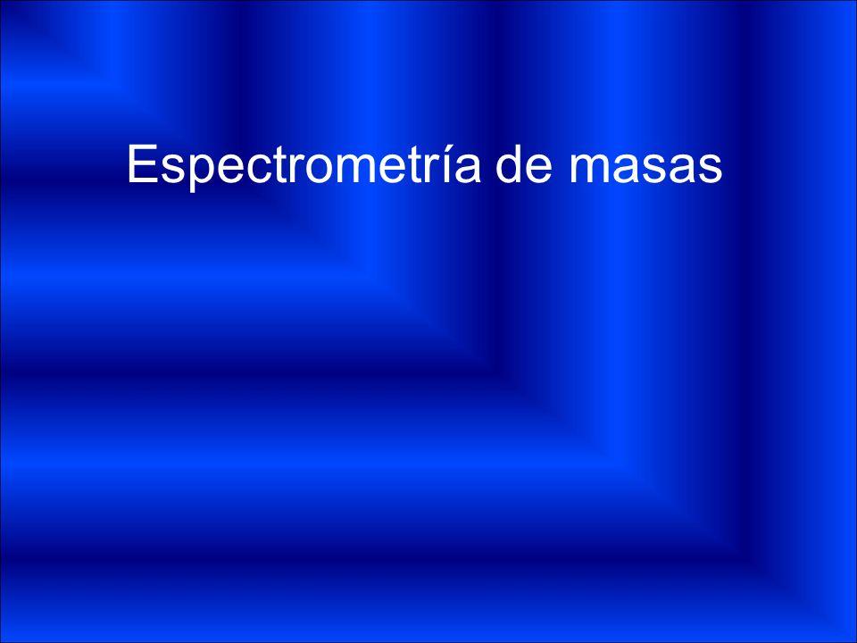 Componentes Sistema de bombeo Sistema de entrada Cámara de iones (Fuente de ionización) Óptica iónica Analizador Detector Línea de transferencia