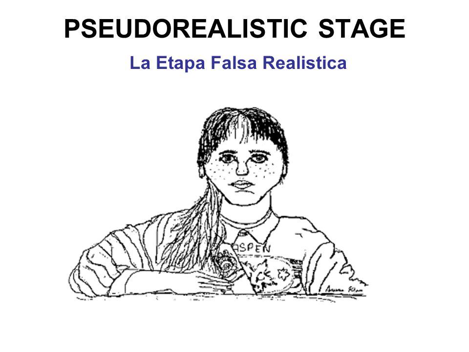 PSEUDOREALISTIC STAGE La Etapa Falsa Realistica
