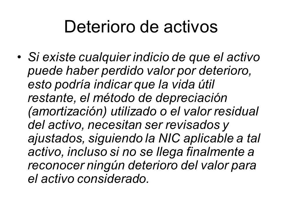 Valor Neto de Realización (VNR) (4) NIC 2, p.
