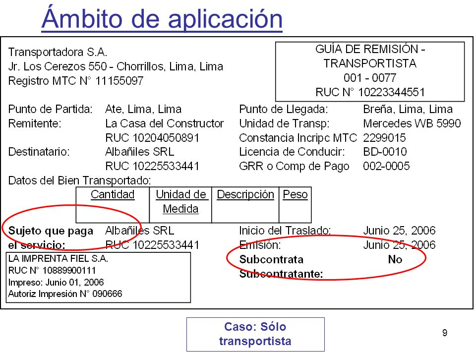 50 Se pide registrar un servicio de transporte de bienes por carretera cuyo precio fue de S/.