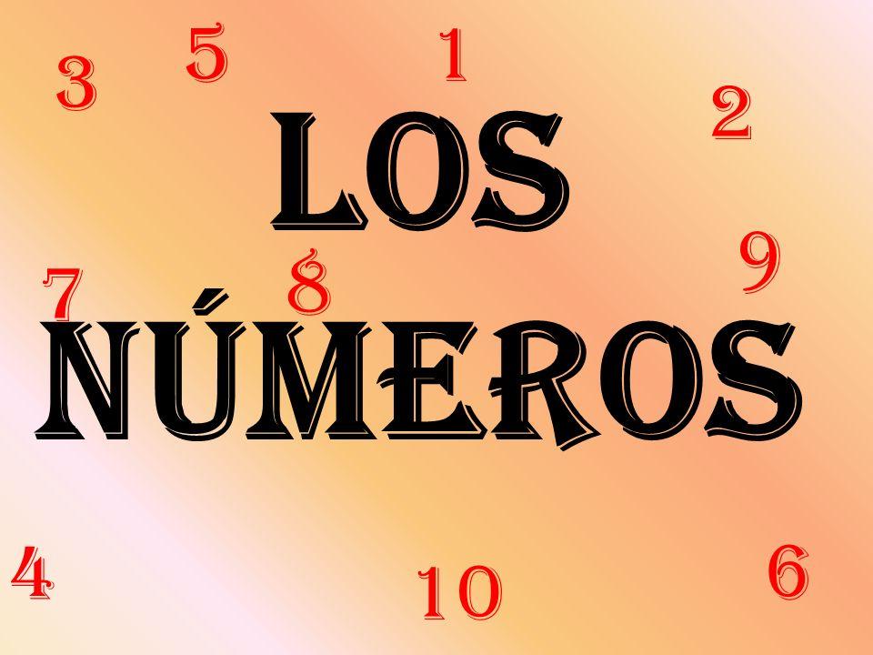 Los números 3 2 7 9 10 1 8 5 64