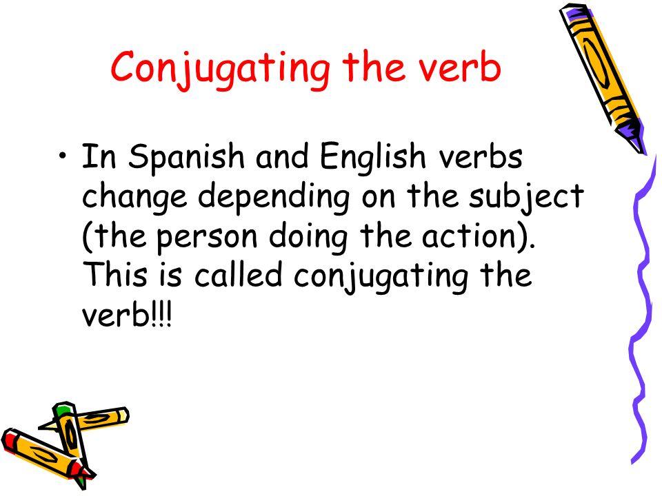 GRAMÁTICAGRAMÁTICA Present tense of regular –ar, -er, -ir verbs