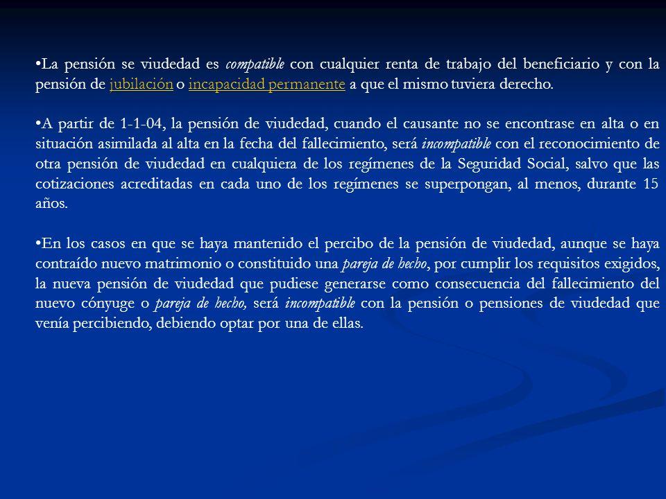 CÁLCULO DE LA CUANTÍA Suma de las bases de cotización de CC de 24 meses Elegidos dentro de los 15 últimos años.