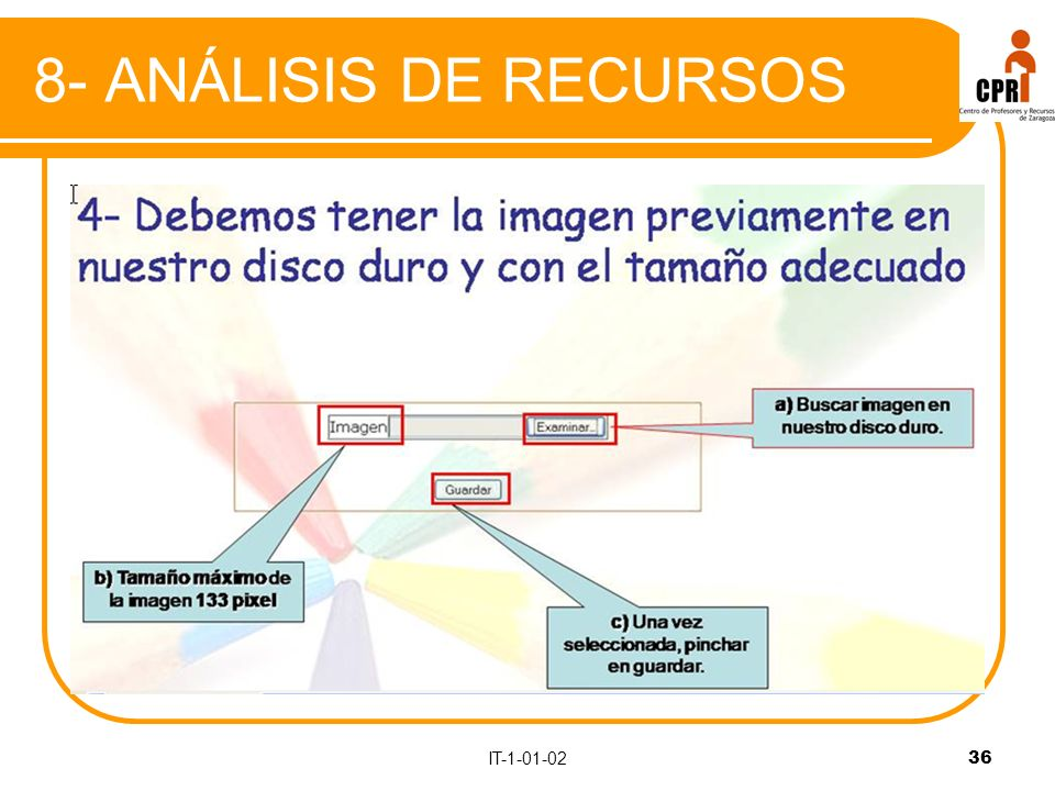IT-1-01-0236 8- ANÁLISIS DE RECURSOS