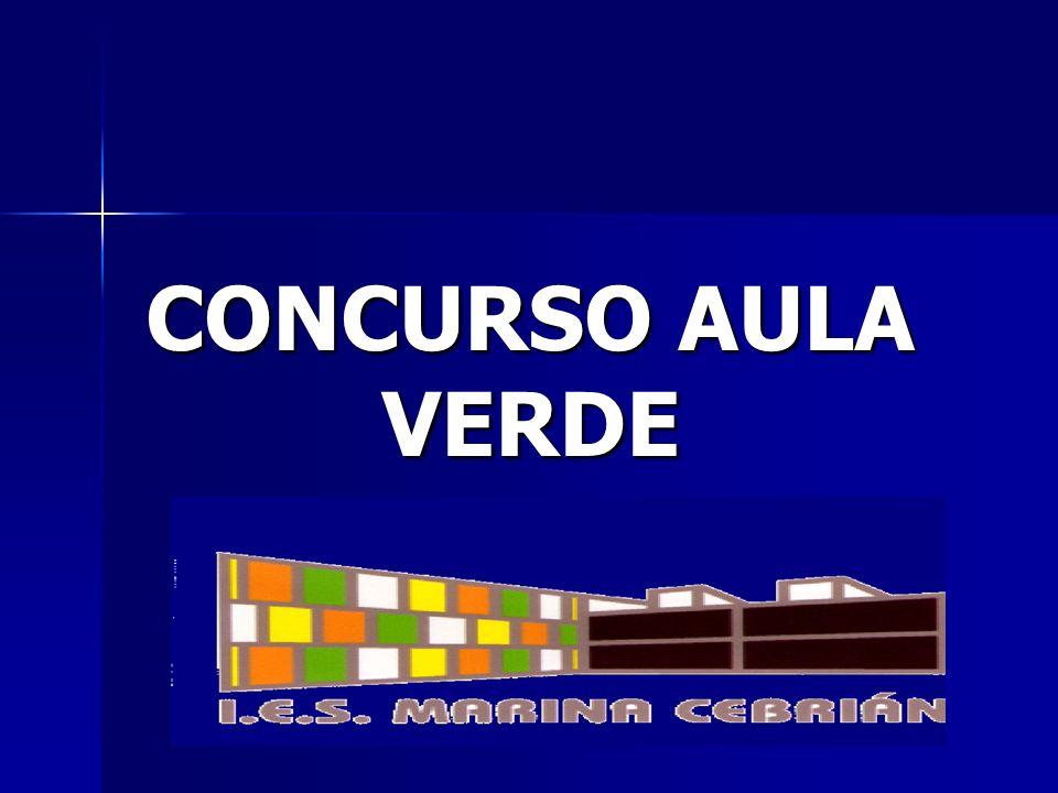 CONCURSO AULA VERDE