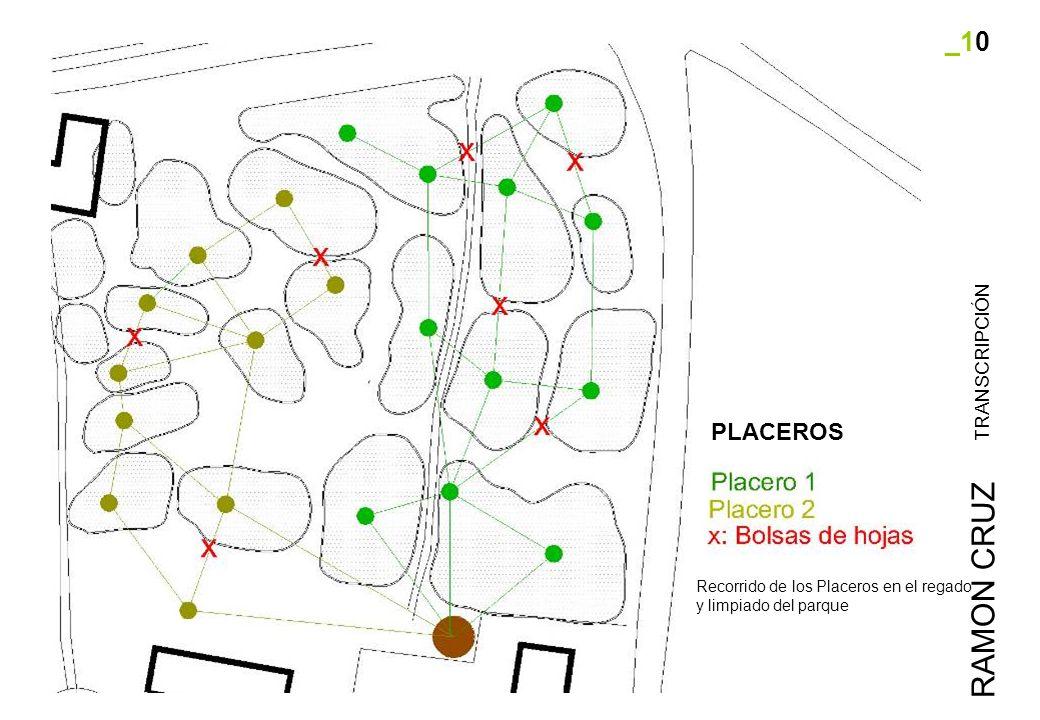 _10 TRANSCRIPCIÓN RAMON CRUZ Recorrido de los Placeros en el regado y limpiado del parque PLACEROS
