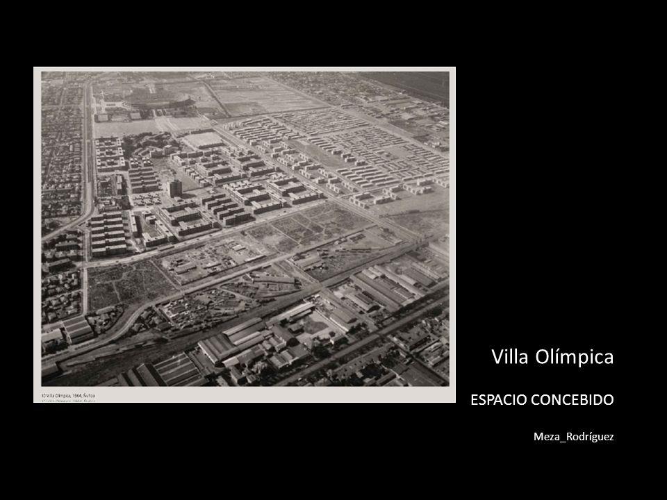 CONCEPCIÓN DEL PROYECTO - Villa peatonal.- Un espacio público centralizado.