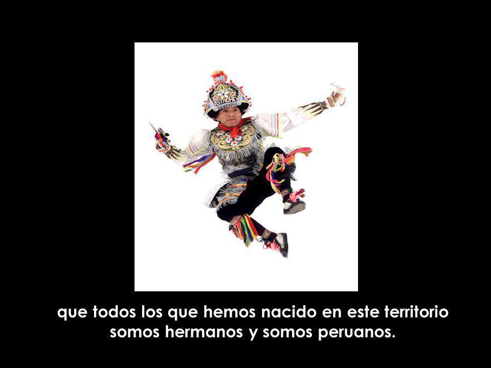 Tenemos entonces una sola nación: la nación peruana,