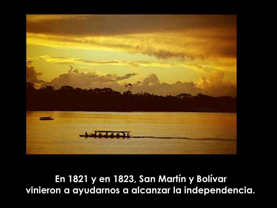 que todos los que hemos nacido en este territorio somos hermanos y somos peruanos.