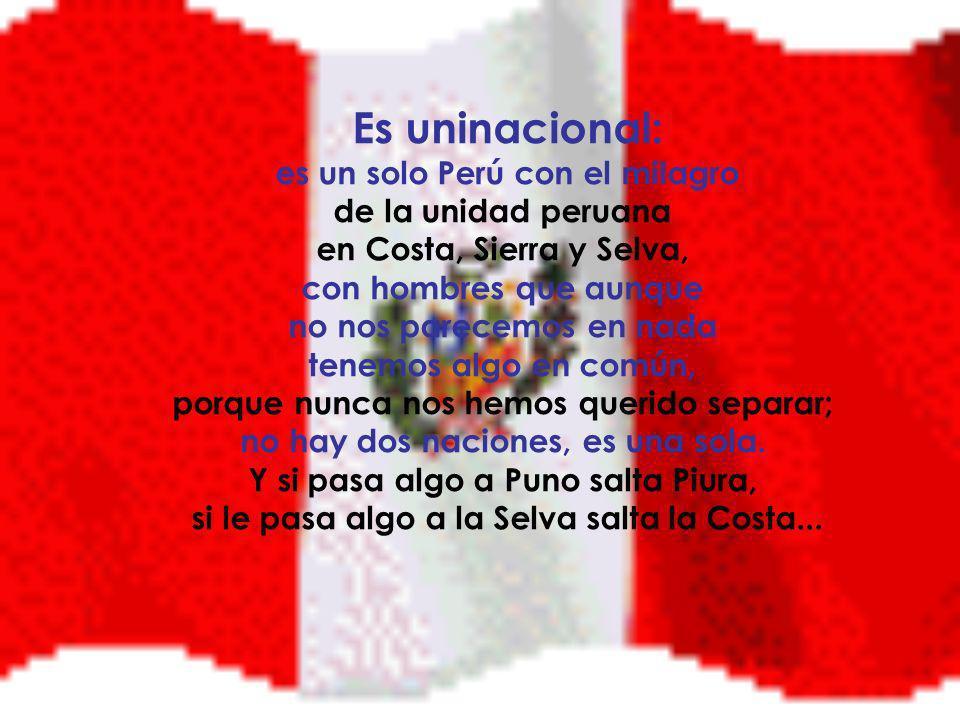 El Perú es independiente: porque es libre y soberano (y no depende de otros).