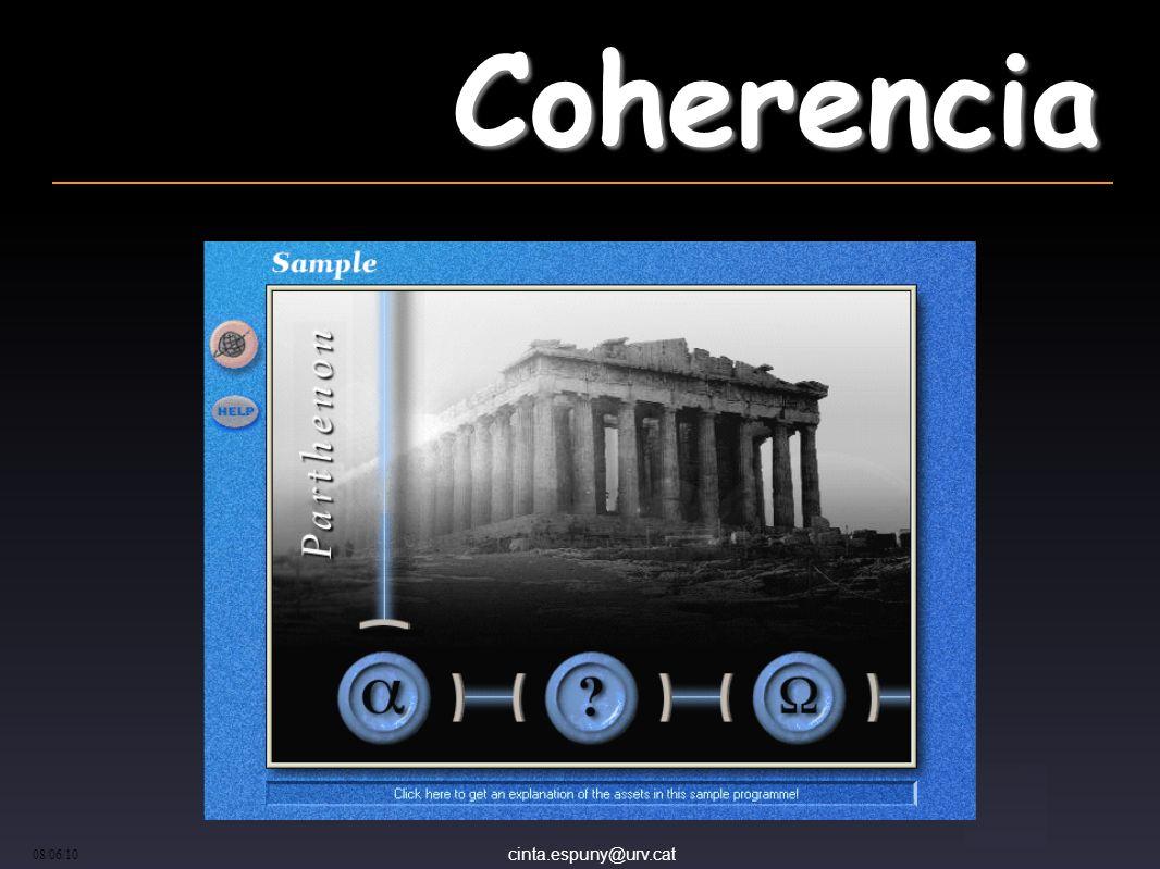 cinta.espuny@urv.cat 08/06/10 Coherencia