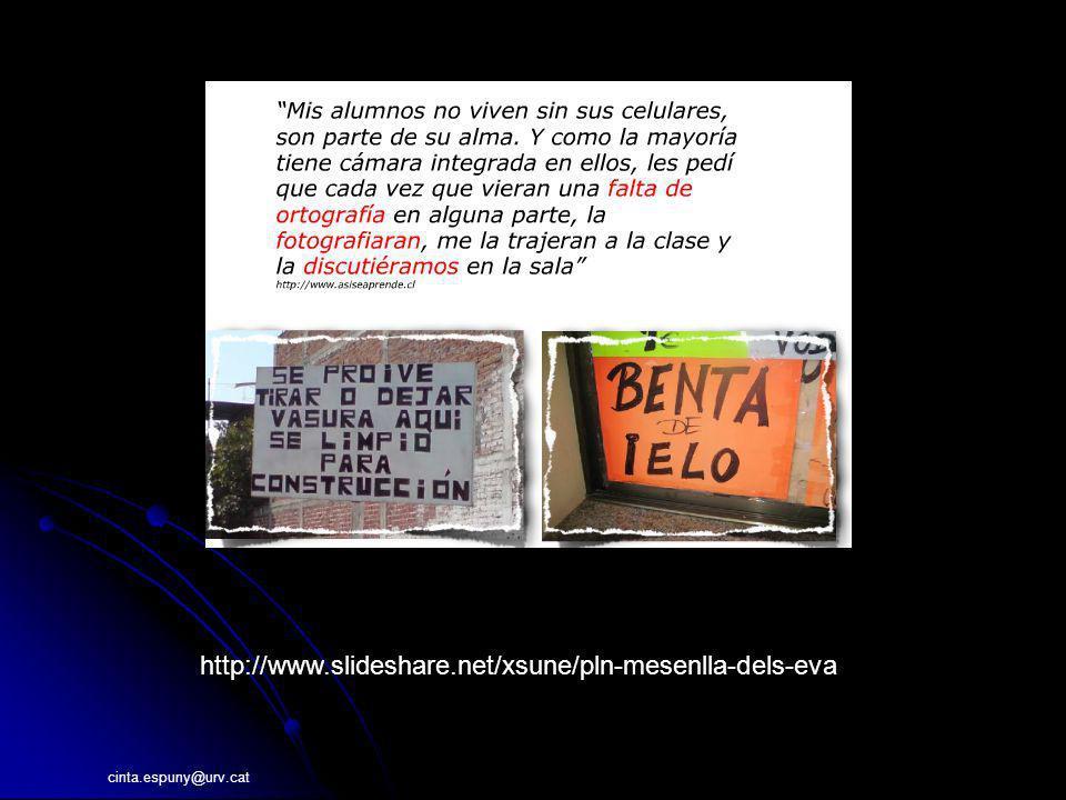 http://www.slideshare.net/xsune/pln-mesenlla-dels-eva