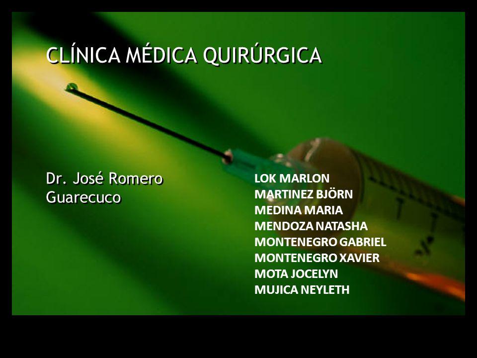 Dr. José Romero Guarecuco LOK MARLON MARTINEZ BJÖRN MEDINA MARIA MENDOZA NATASHA MONTENEGRO GABRIEL MONTENEGRO XAVIER MOTA JOCELYN MUJICA NEYLETH CLÍN