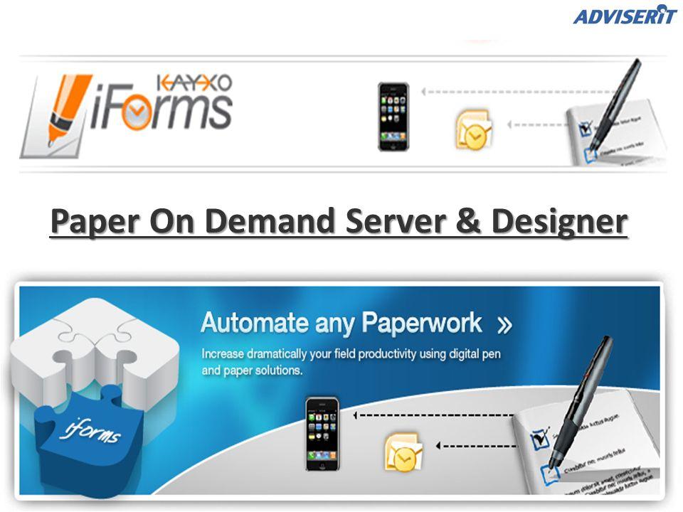 Tercera Componente: PPOD Web Portal – Exportación en Integración (1) Desde el Portal PPOD, el Administrador de sitios web pueden configurar el reenvío del documento, lo que facilita la integración de la solución PPOD con un sistema de back-end existente.