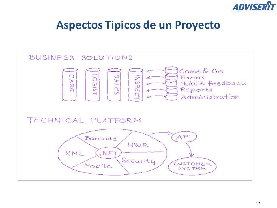 14 Aspectos Tipicos de un Proyecto