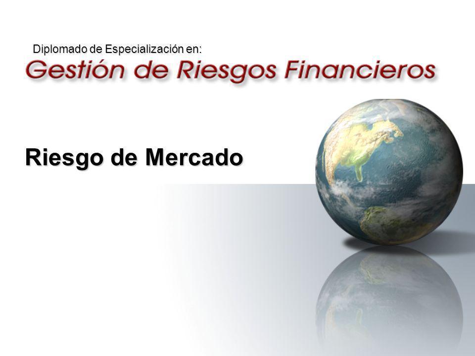 Riesgo de Mercado Diplomado de Especialización en: