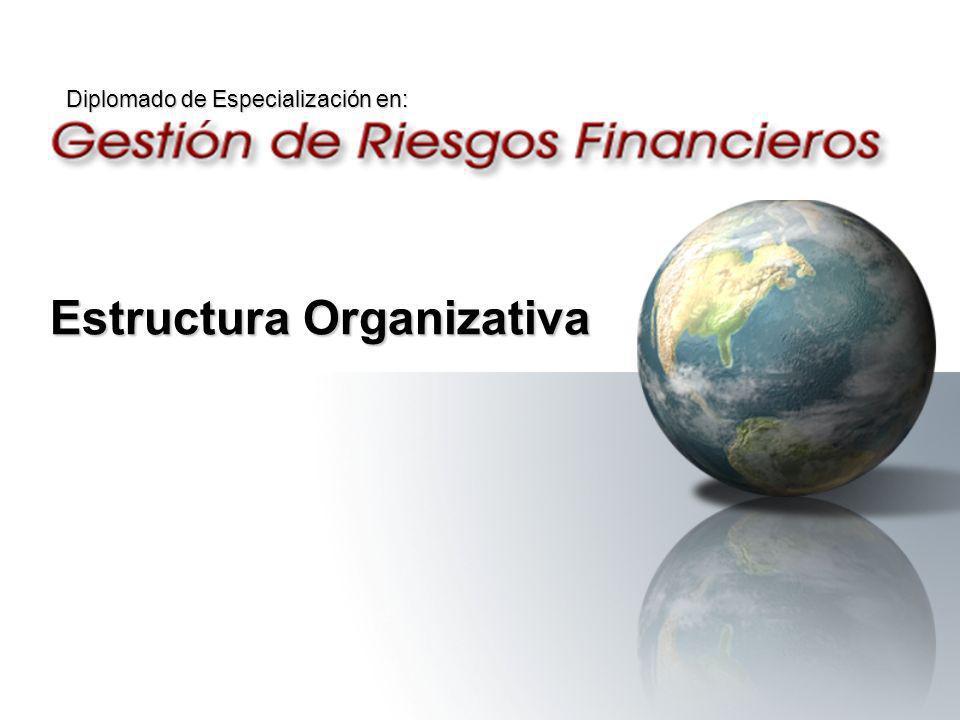 Estructura Organizativa Diplomado de Especialización en: