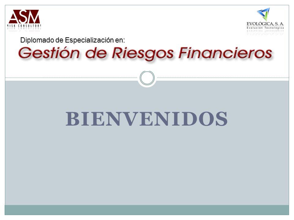 BIENVENIDOS Diplomado de Especialización en: