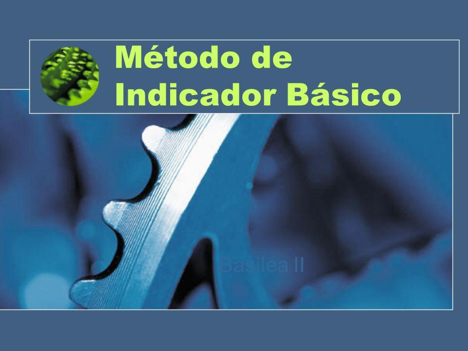 Método de Indicador Básico Basilea II