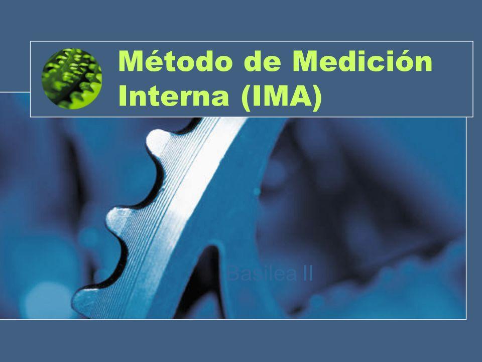 Método de Medición Interna (IMA) Basilea II