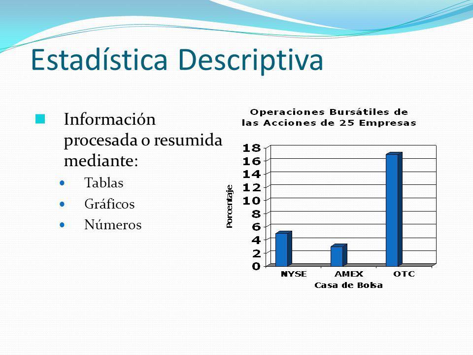 Desviación Estándar Indicador de variación promedio de las observaciones respecto a la media aritmética.