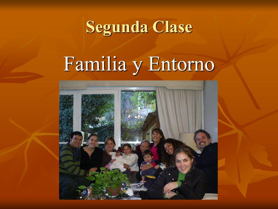 Segunda Clase Familia y Entorno