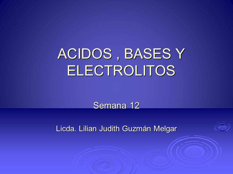 ACIDOS Y BASES ACIDO Del latín Acidus= agrio Ejemplos Vinagre, jugo de limón.