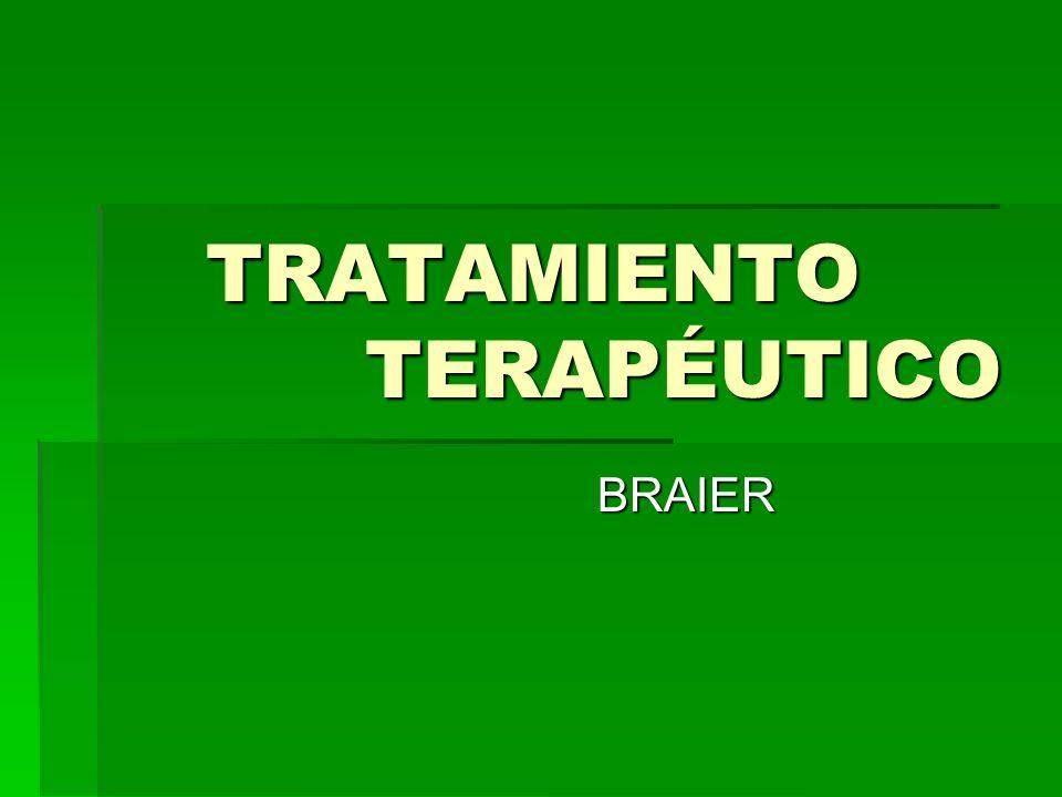 TÉCNICA DEL TRAMIENTO 1.Relación paciente – terapeuta 2.Regla de funcionamiento para el paciente 3.Atención del terapeuta respecto a la labor de focalización 4.Elementos terapéuticos 5.Reflexiones sobre las sesiones y otros recursos terapéuticos